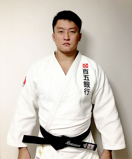柔道100kg超級 原沢久喜選手